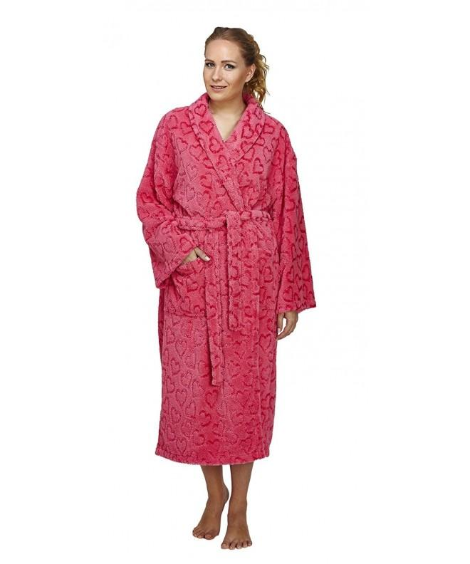 Arus Womens Design Bathrobe Turkish