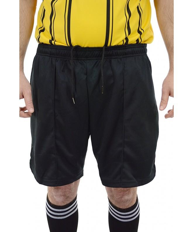 Premium Drawstring Referee Black Officials
