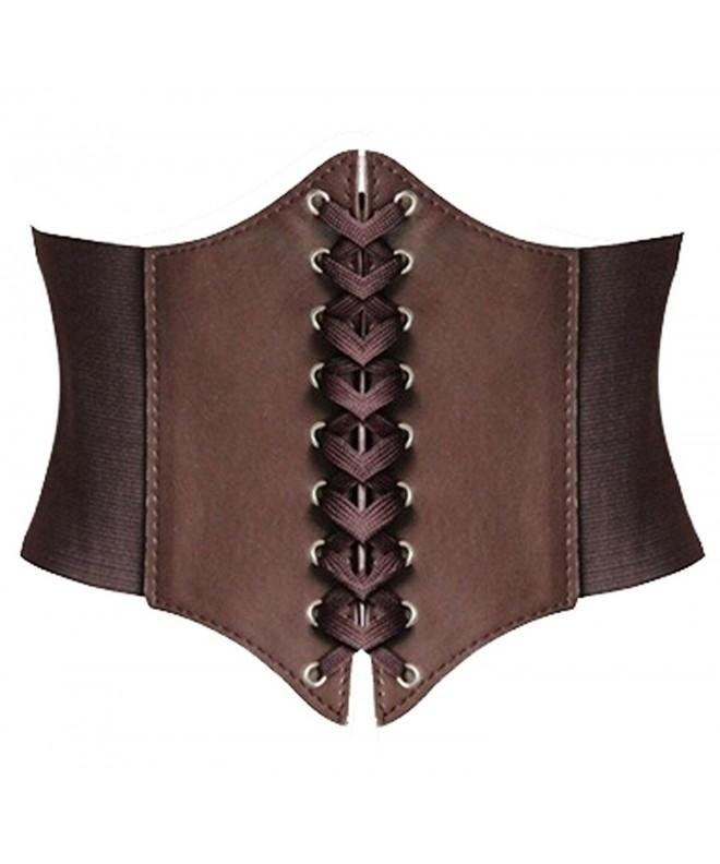 Alivila Y Fashion Underbust Corset A13 Coffee