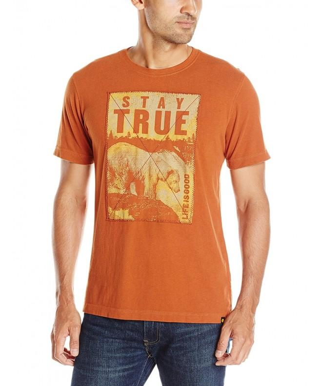 Life Good Creamy T Shirt Rustic