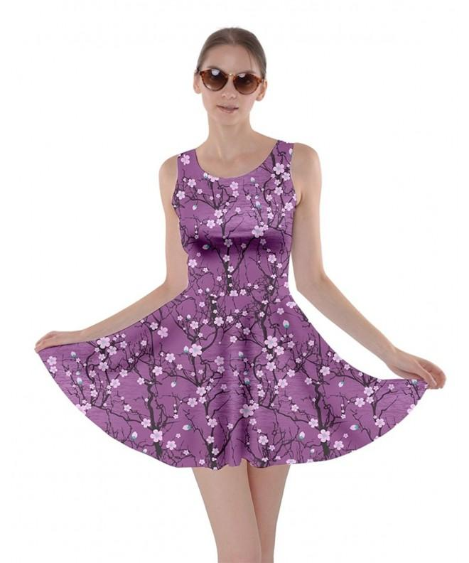 CowCow Womens Pattern Japanese Blossom