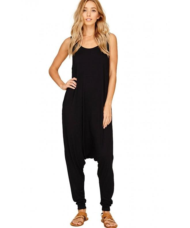 Annabelle Womens Sleeveless Jumpsuits JC6009