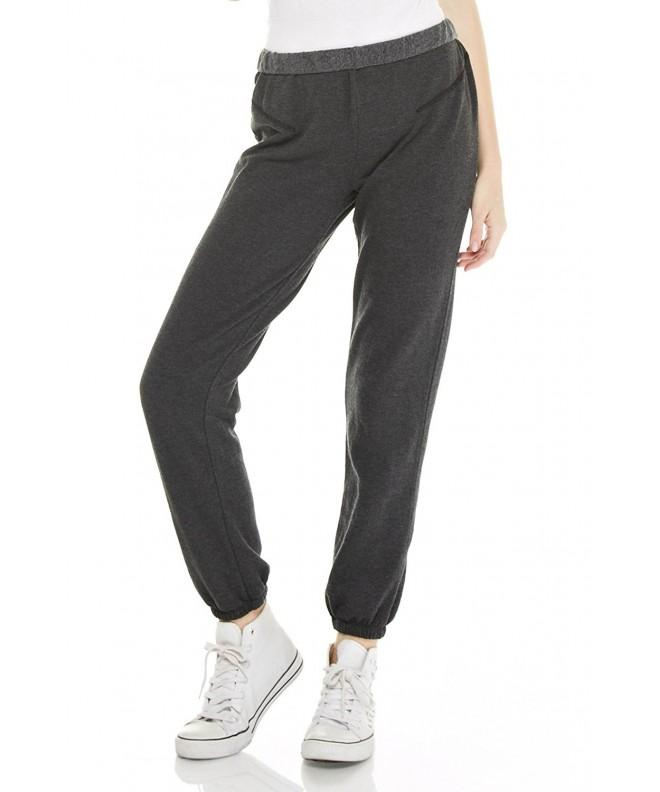 Alexander David Womens Brushed Sweatpant