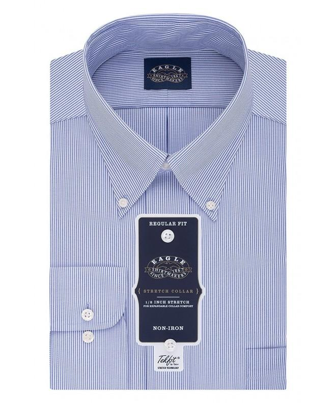 Eagle Stretch Regular Buttondown Periwinkle