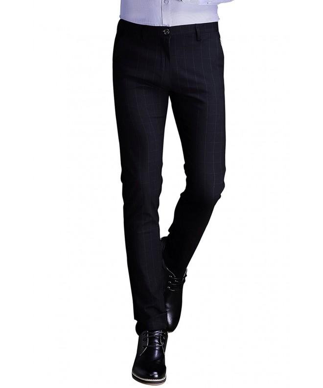 INFLATION Wrinkle Free Stretch Elastic Trousers