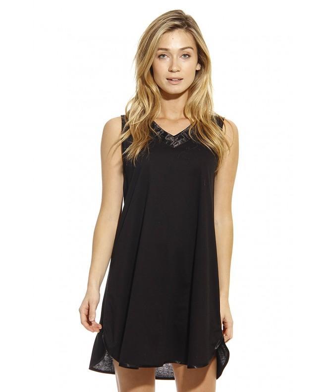 1530 BLK M Dreamcrest Nightgown Women Sleepwear