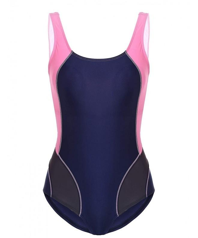 Ekouaer Womens Swimsuit Swimwear Athletic