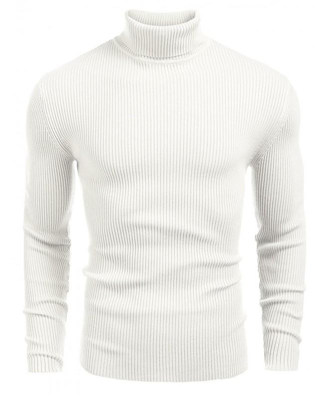 Coofandy Knitted Pullover Turtleneck Sweater
