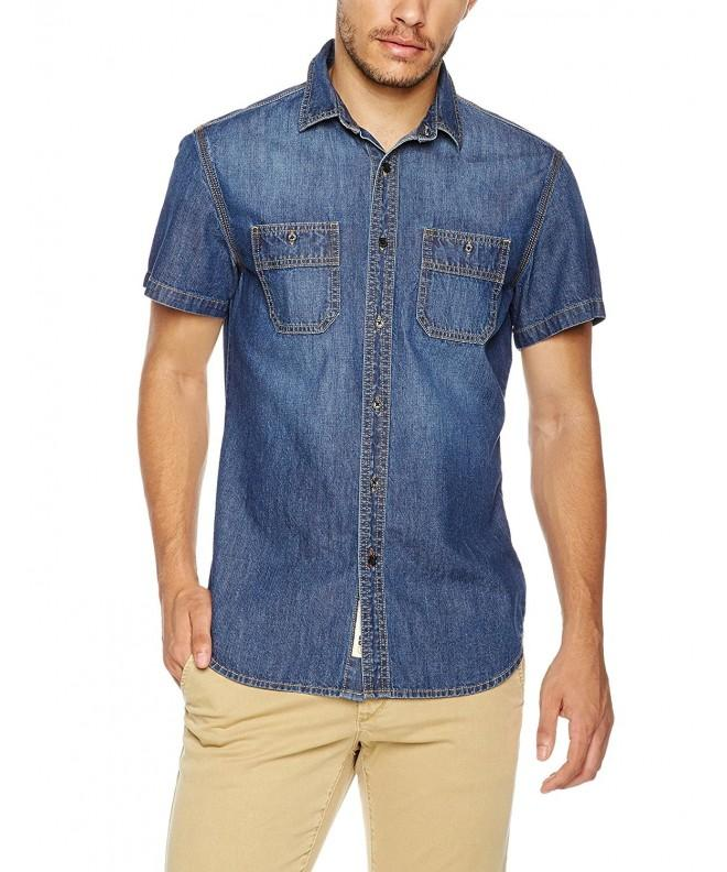 Quality Durables Co Short Sleeves Denim