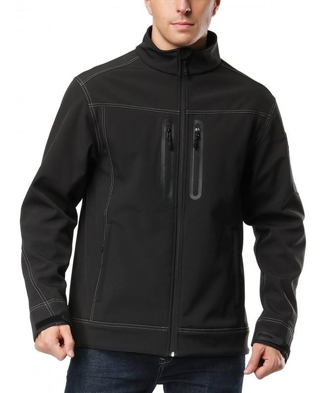 Softshell Jacket Resistant Tactical Fleece