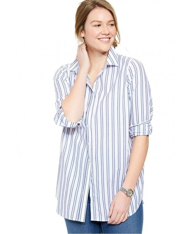 Womens Sleeve Perfect Evening Stripes
