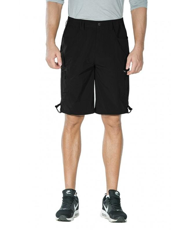 Nonwe Quick Cargo Shorts Black