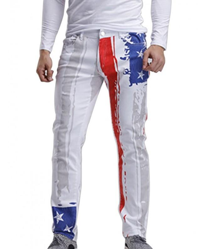 Idopy Men Patriotic American Stretchy