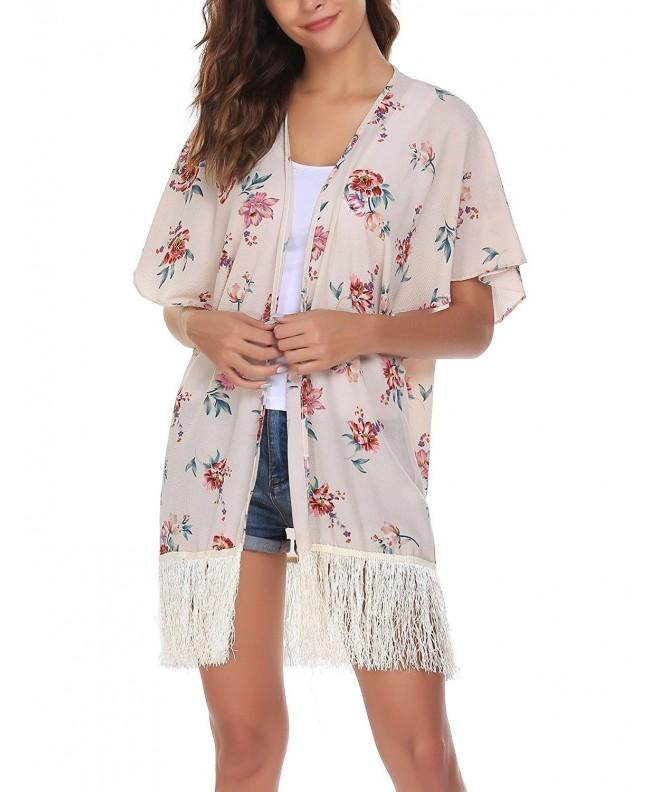 Easther Womens Chiffon Cardigan Coverup