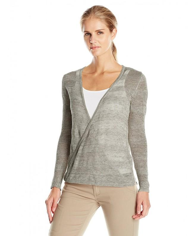 Royal Robbins Womens Pullover Charcoal