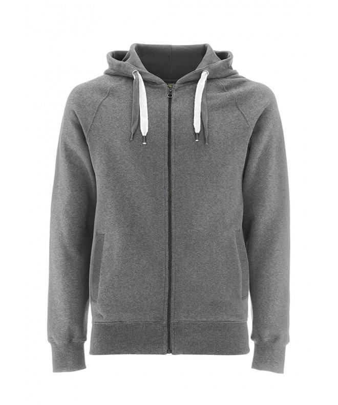 Melange Grey Hoodie Men Sweatshirt