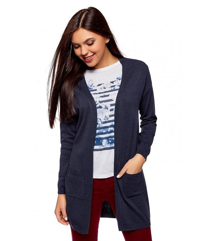 oodji Ultra Womens Cardigan Pockets