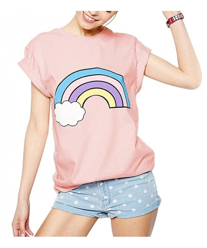 WuLun Rainbow Graphic T Shirt X Large