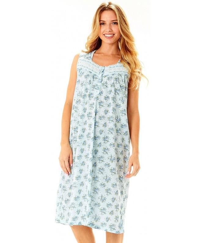 Floopi Womens Nightgown Sleepwear Pajamas