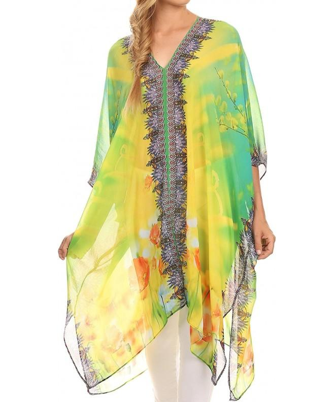 Sakkas KF2503293A Length Caftan Yellow