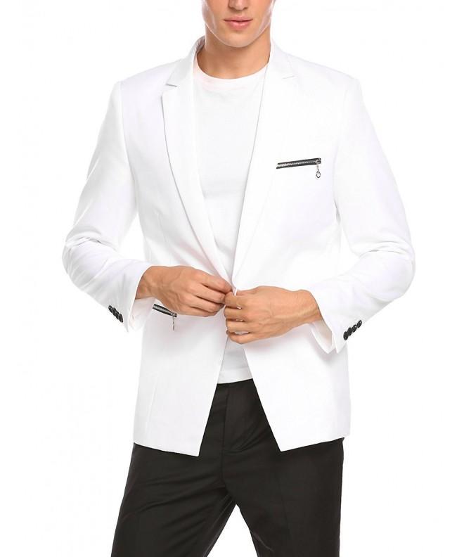 COOFANDY Blazer Casual Button Jacket