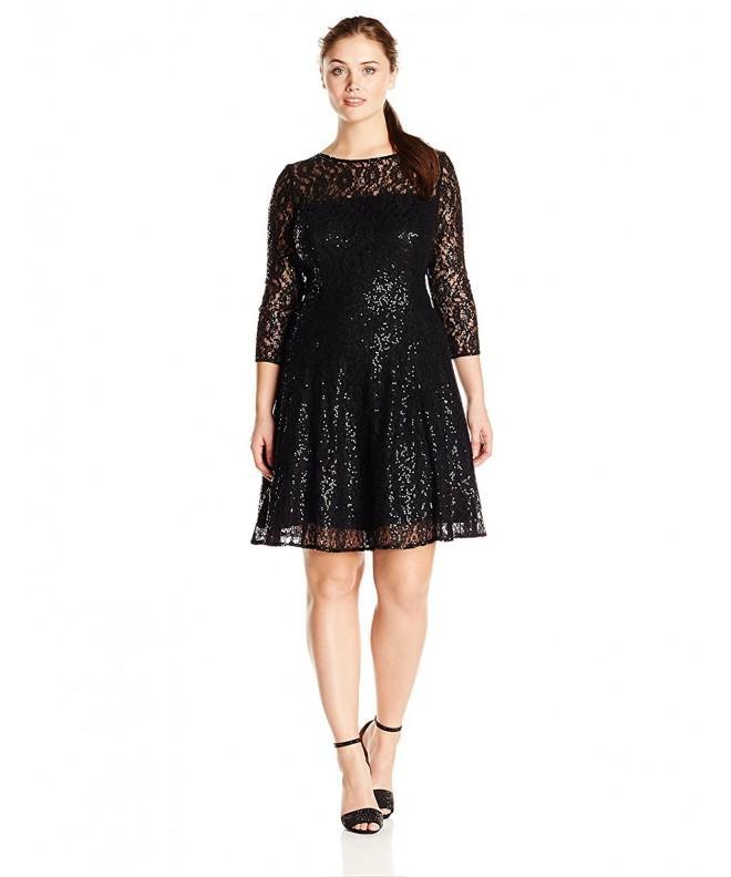 S L Fashions Womens Plus Size Sleeve