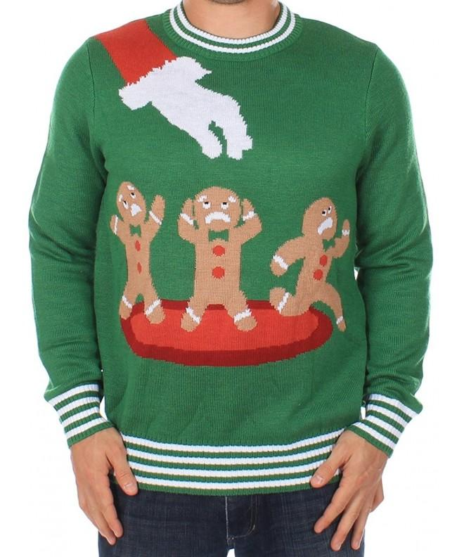 Ugly Christmas Sweater Gingerbread Nightmare