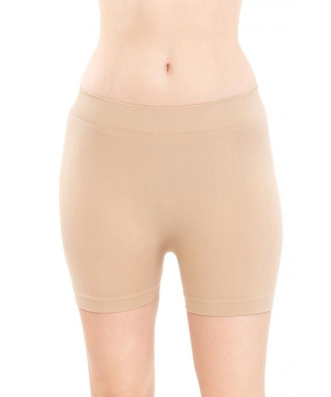 Ladies Seamless Khaki Shorts Pants