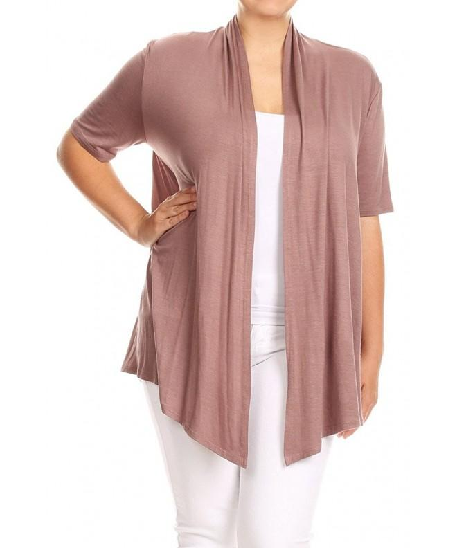 Basic Solid Color Sleeve Cardigan