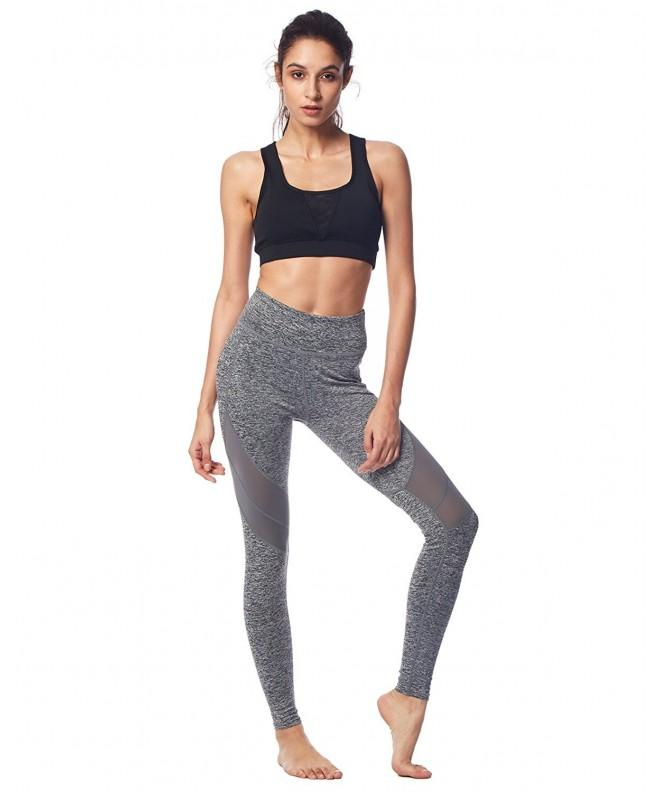 BELLEZIVA Leggings Workout Running Heather
