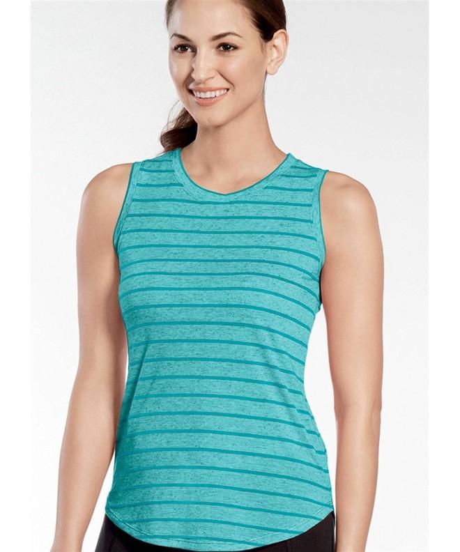 Jockey Womens Activewear Sleeveless Stripe