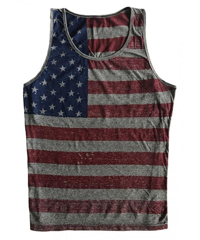 Sleeveless Muscle Vintage American XX Large
