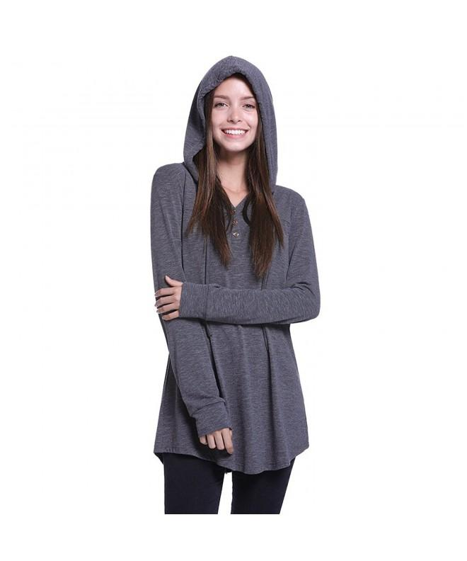 Fancyqube Pleated Lightweight Pullover Sweatshirt