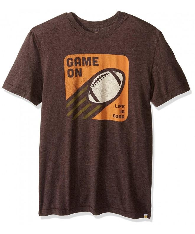 Life Football Darkest Brown Small