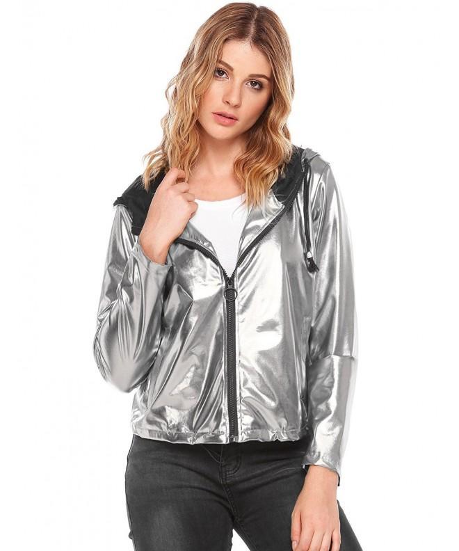 Zeagoo Outwear Jackets X Large Silver