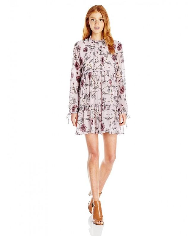 Jolt Womens Floral Print Sleeve
