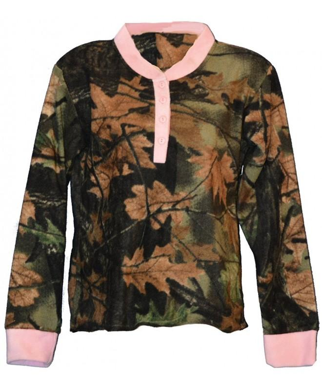 Trailcrest Womens Fleece Camouflage Highland