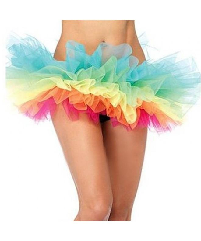 Women Adult Tutu Skirt Colorful
