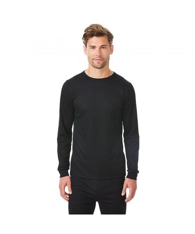 Ribbed Sleeve Thermal Shirt Small