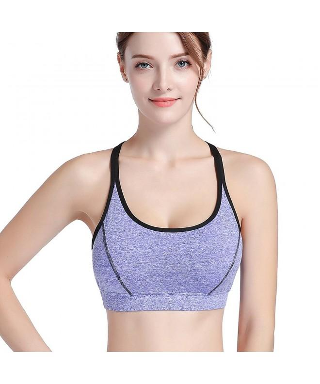 Strappy Crisscross Removable Racerback Running