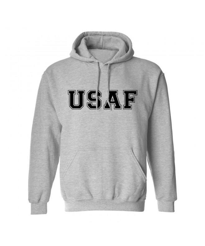USAF Force Hooded Sweatshirt Gray