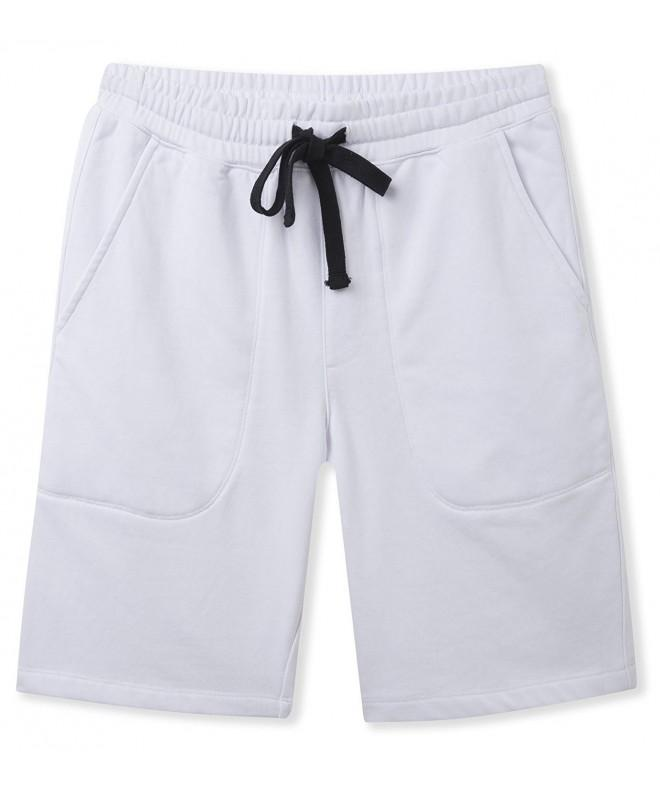 Mr Zhang Casual Cotton Elastic White US