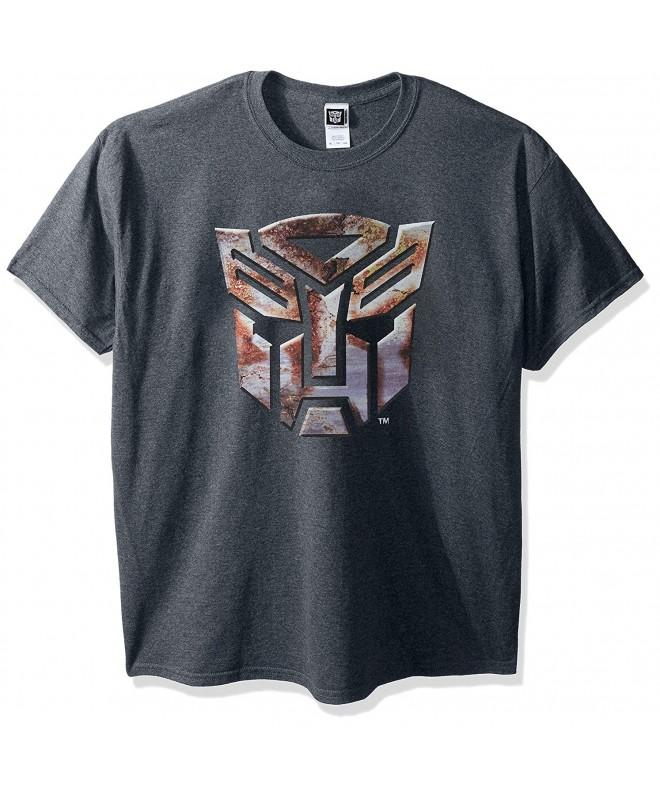 Transformers Mens T Shirt Heather Large