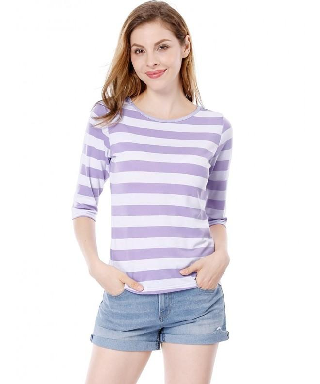 Allegra Sleeves Contrast Stripes T shirt