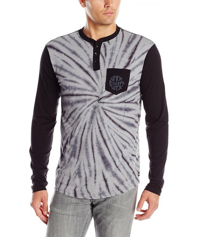 686 Pullover Henley Sleeve T Shirt