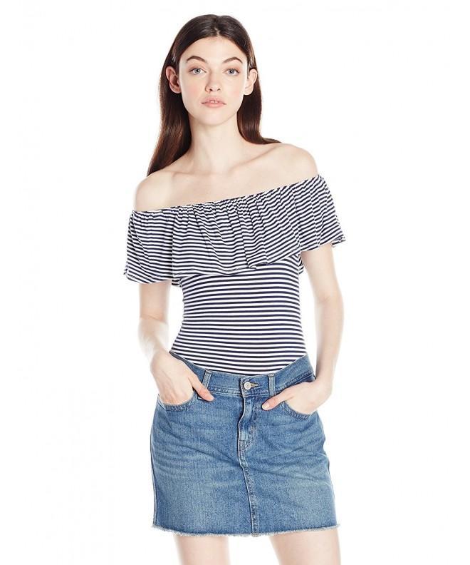Miss Chievous Womens Shoulder Stripe
