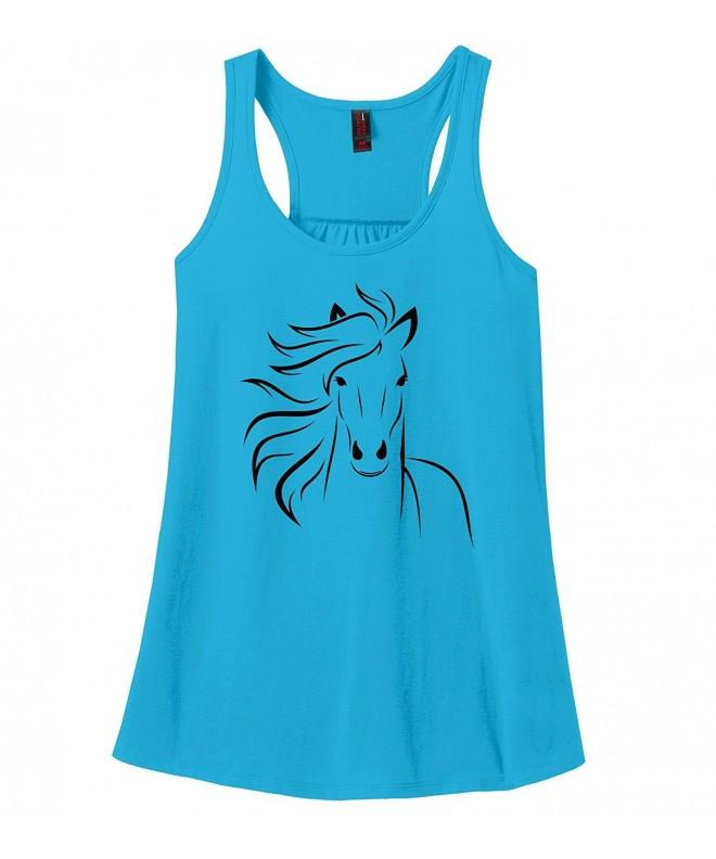 Comical Shirt Outline Graphic Turquoise