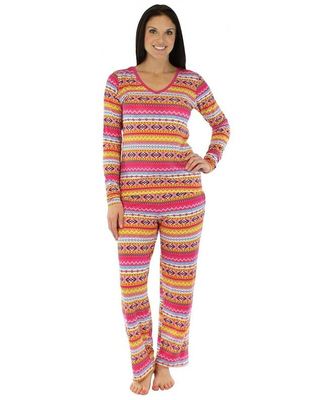 bSoft Womens Sleepwear Sleeve Fairisle