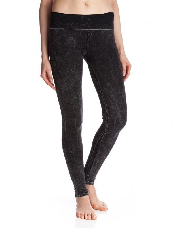 Party Womens Mineral Foldover Leggings