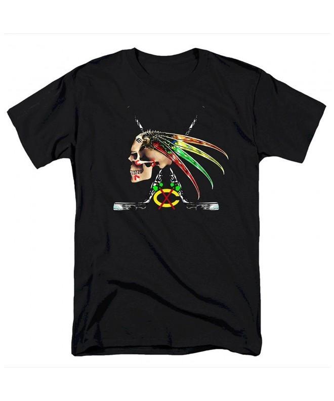 Jung Chicago Hawks Skull Shirt